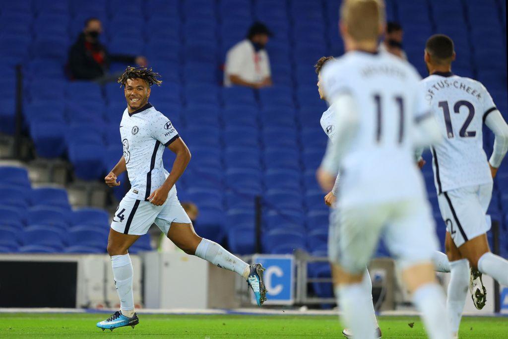 Reece James scored a brilliant goal for Chelsea