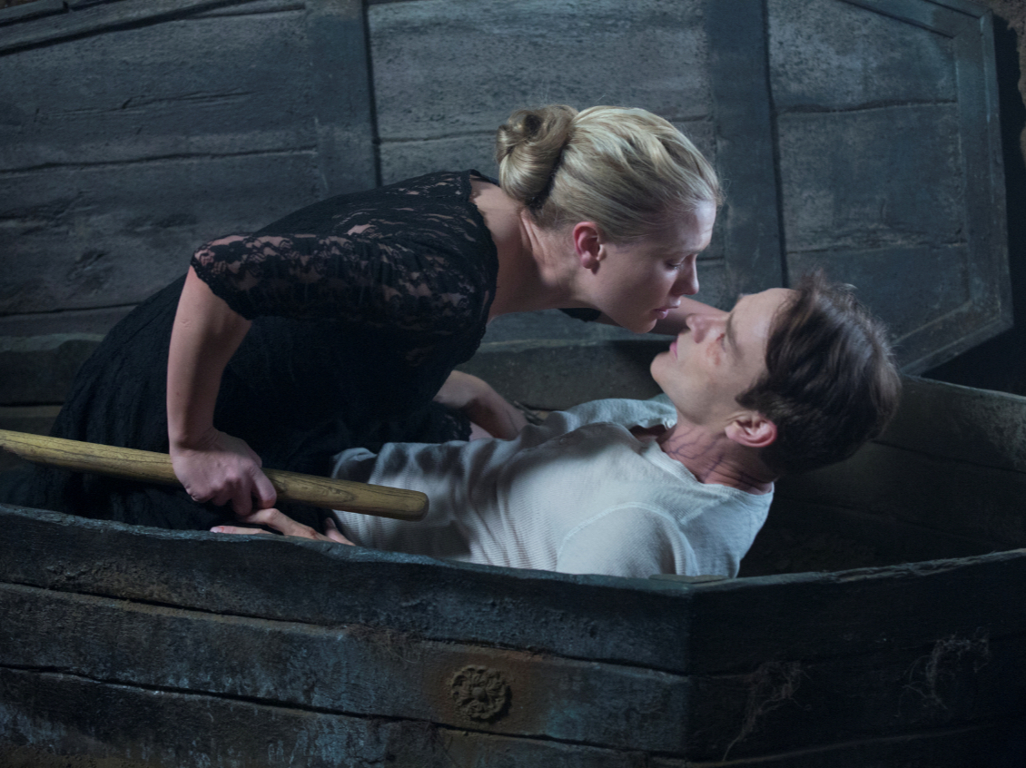 Sookie (Anna Paquin) and Bill (Stephen Moyer) in 'Thank You', the final episode of 'True Blood'