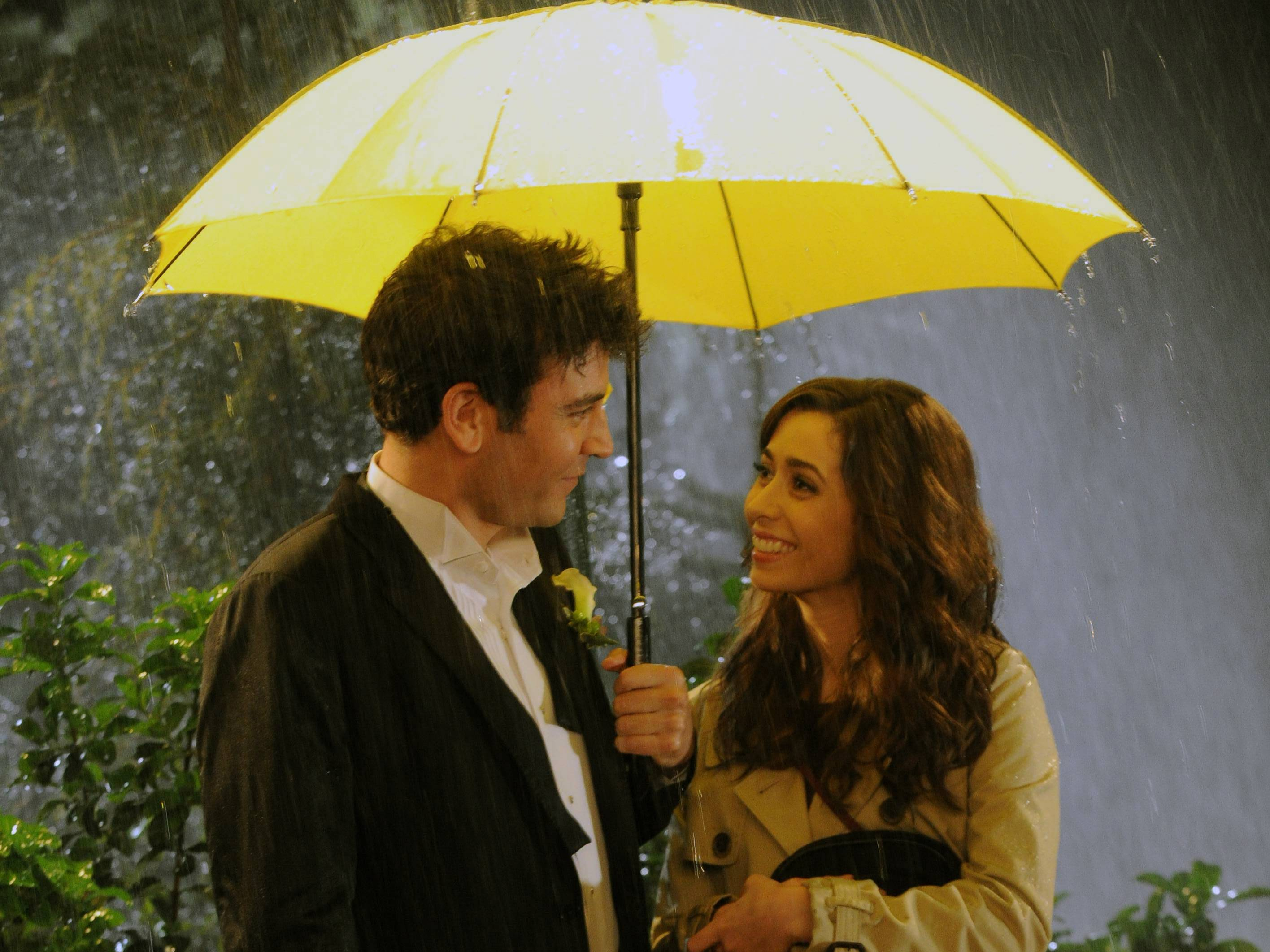 Ted (Josh Radnor) and Tracy (Cristin Milioti) in the finale of 'How I Met Your Mother'