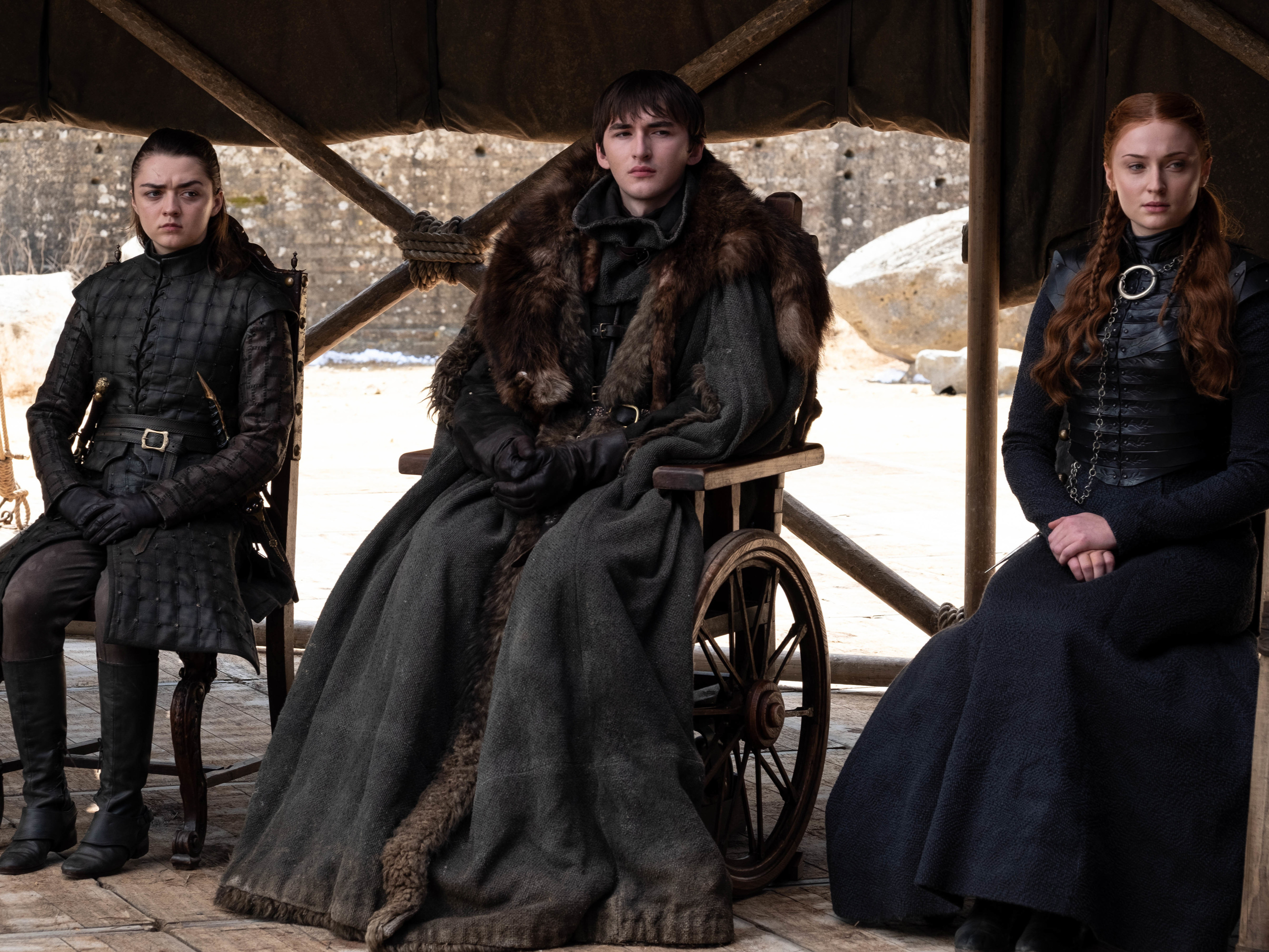 The Starks assemble in the series finale of HBO's 'Game of Thrones'
