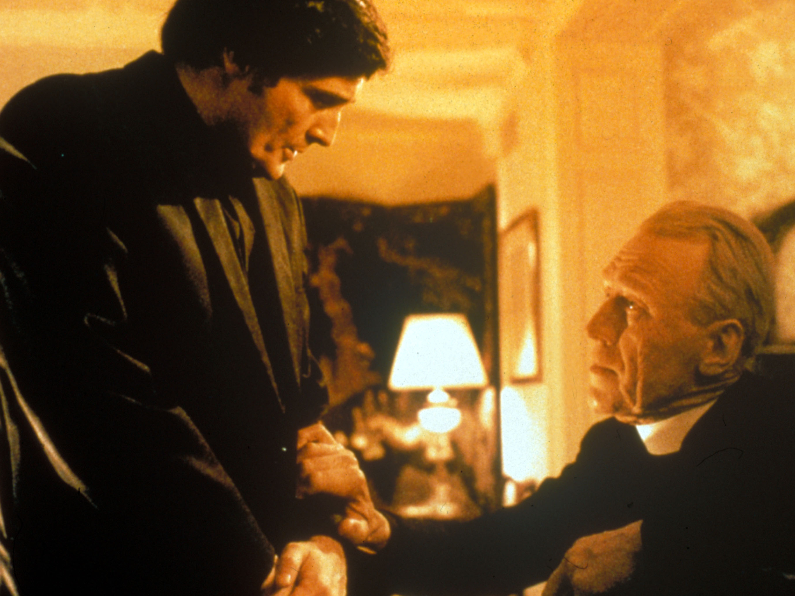 Jason Miller and Max Von Sydow in 'The Exorcist'