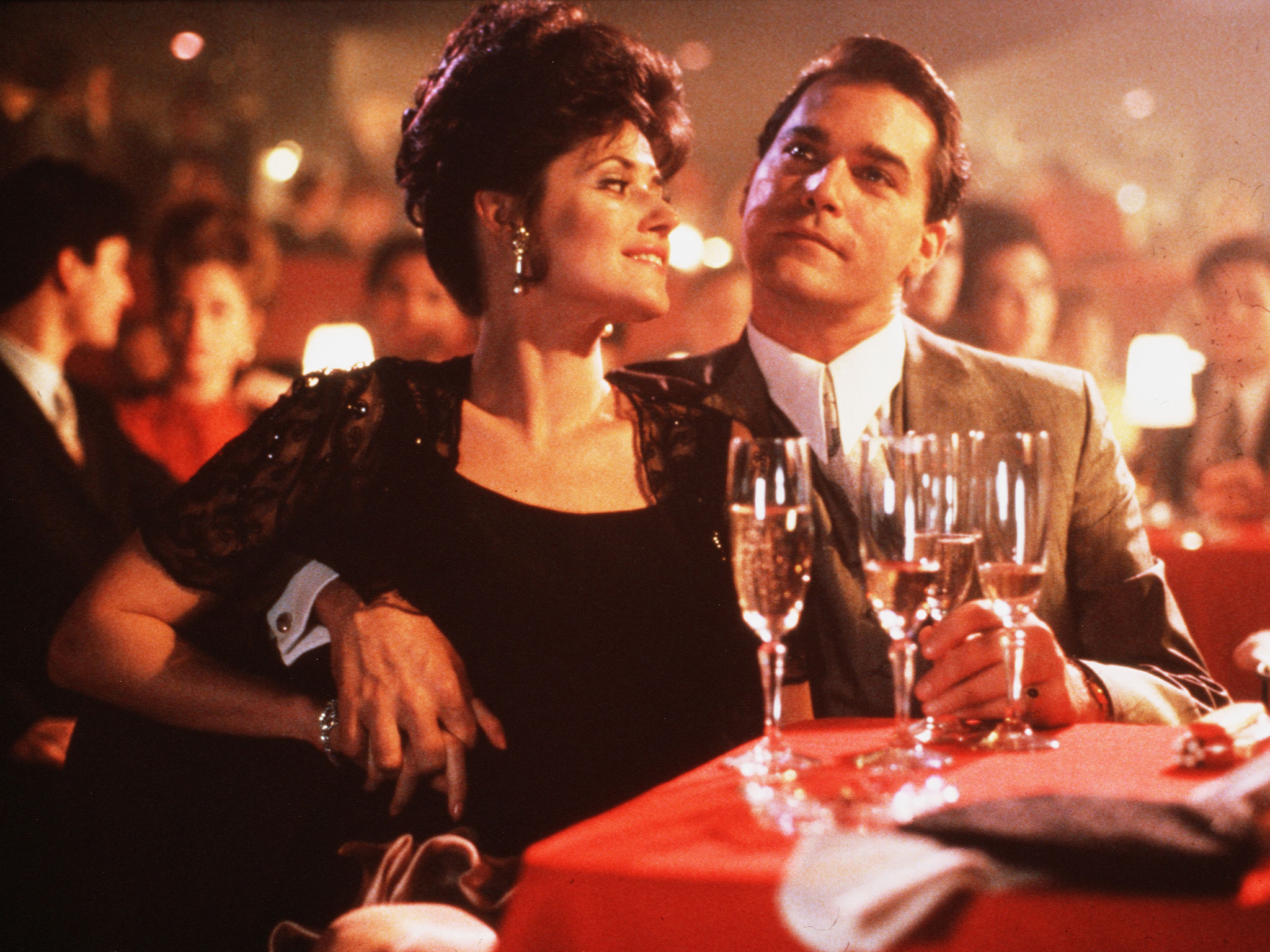 Lorraine Bracco and Ray Liotta in 'Goodfellas'
