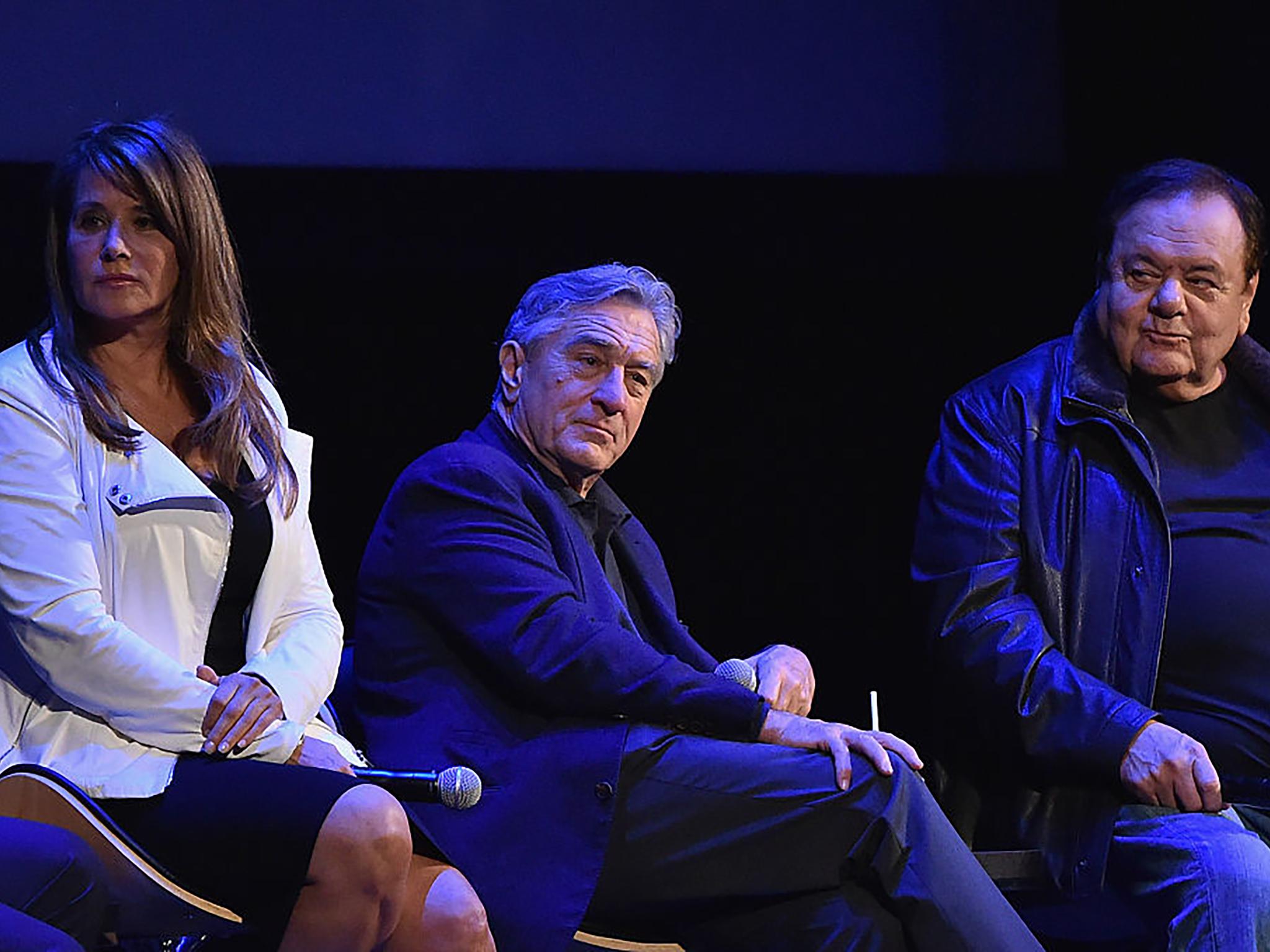 Lorraine Bracco, Robert De Niro and Paul Sorvino attend a 25th anniversary screening of 'Goodfellas' in 2015