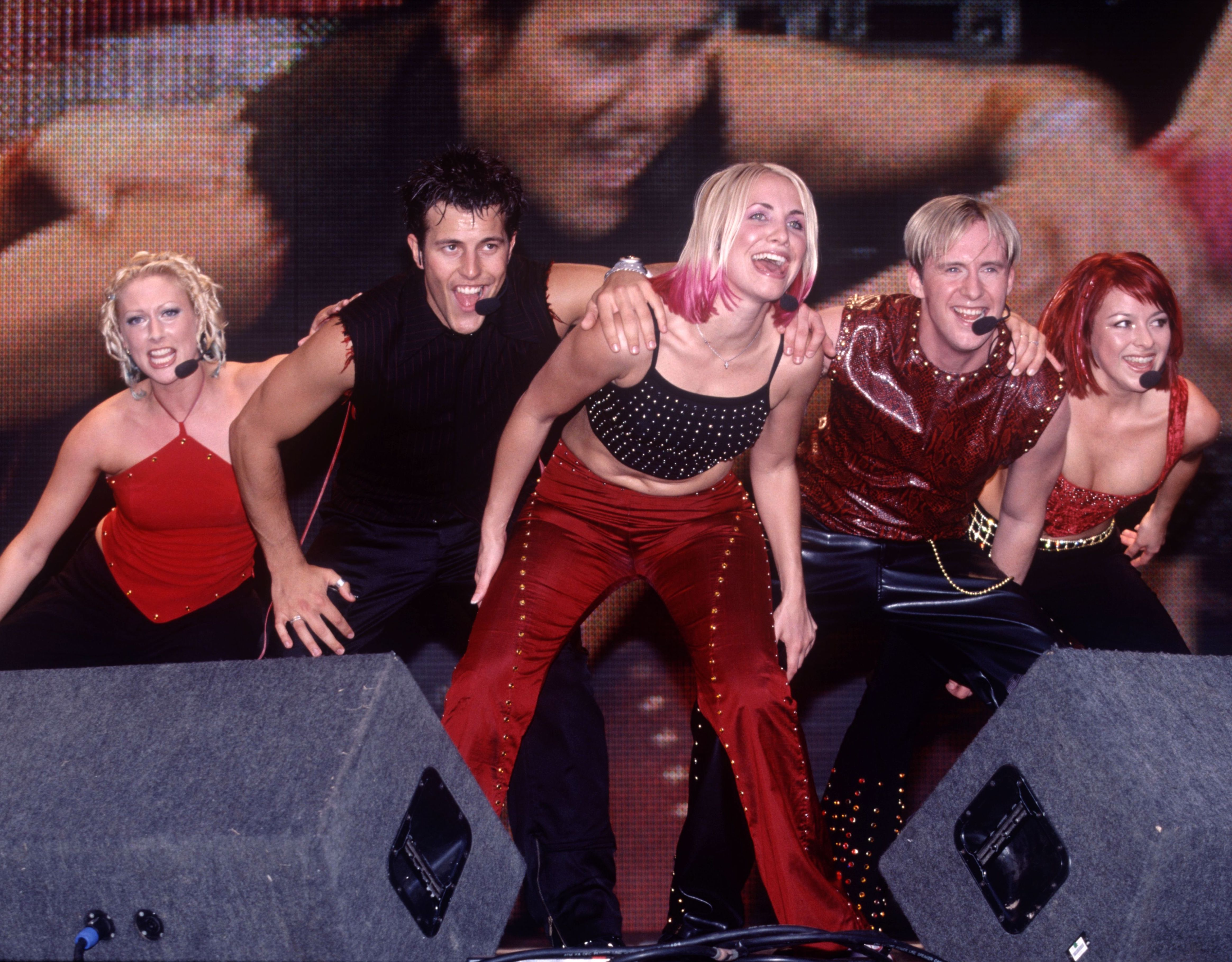 'All Saints and Five and S Club 7 would be all dripping in designer, whereas we'd be there in our same little sad red-and-black top'