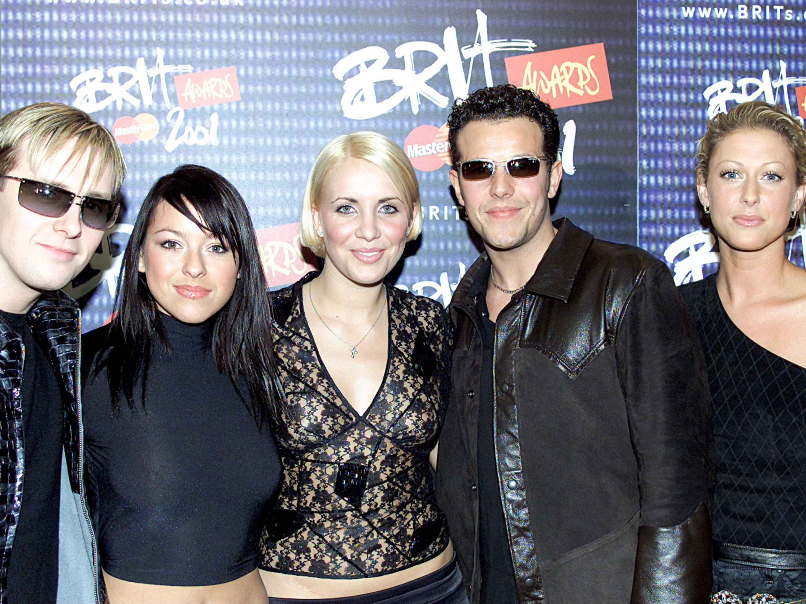 At the Brits in 2001: 'A Steps song has to be genderless'