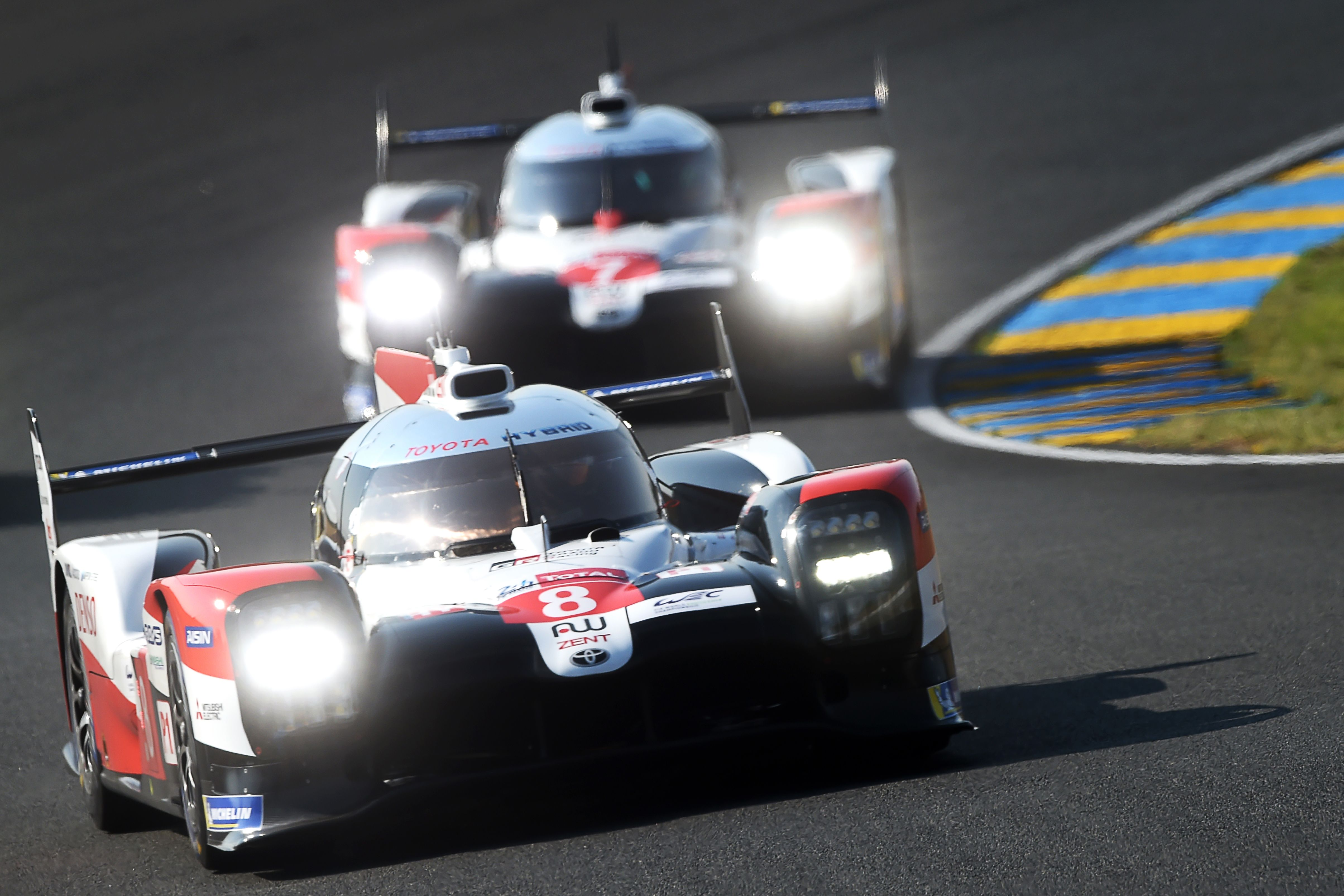 Toyota are bidding for a third consecutive victory