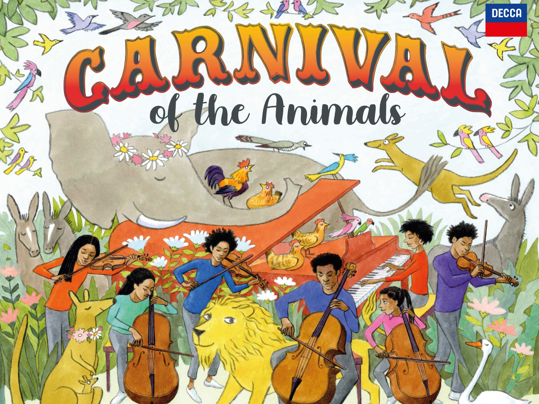 Album artwork for 'Carnival', featuring Olivia Colman and Michael Morpurgo