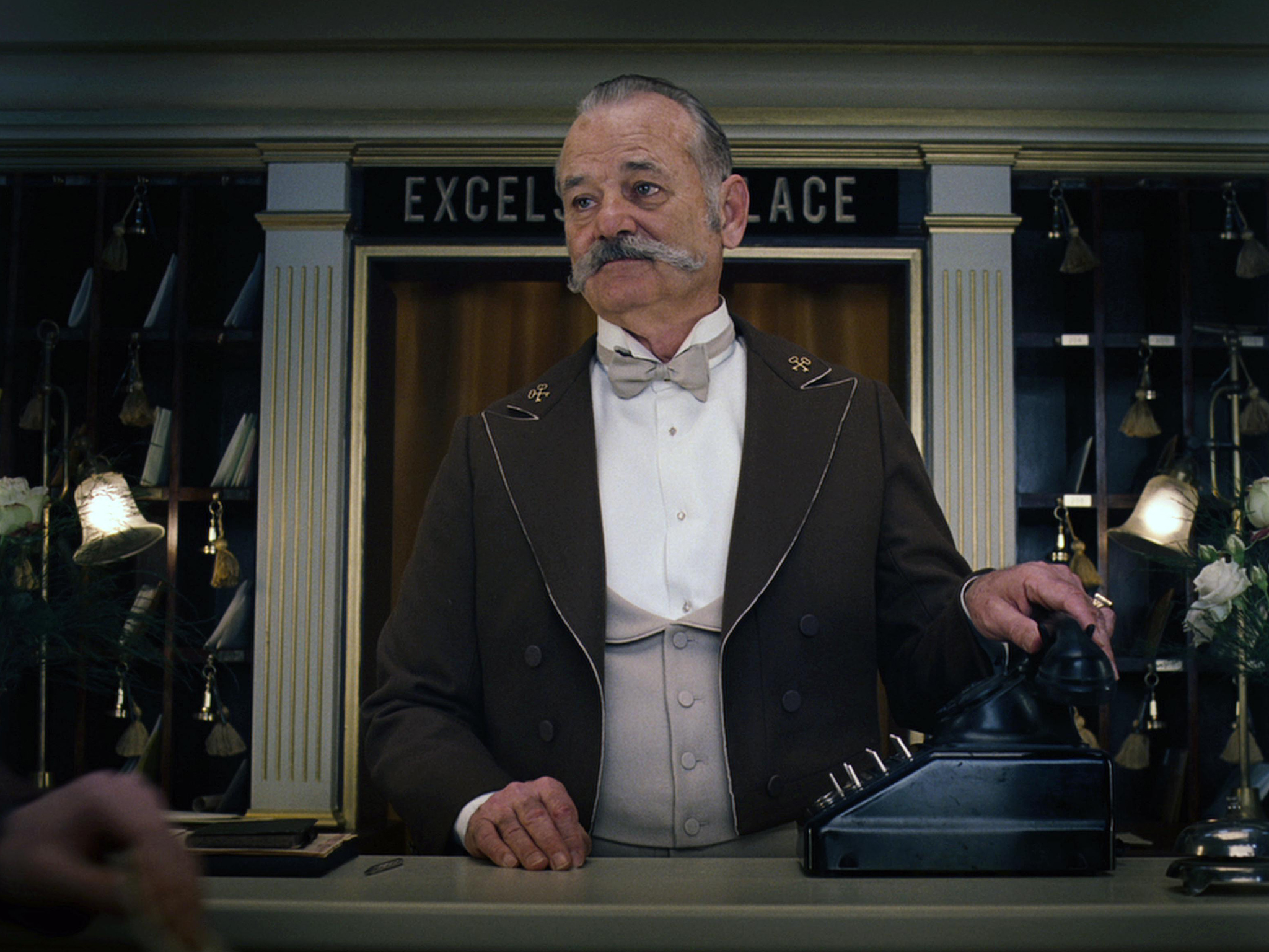 Murray in Wes Anderson's 'The Grand Budapest Hotel'