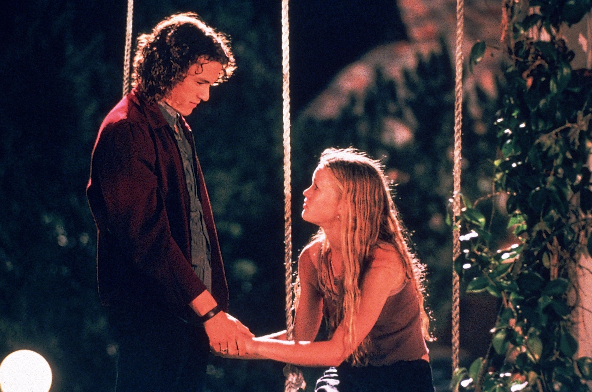 Patrick (Ledger) tames the shrew in '10 Things I Hate About You'