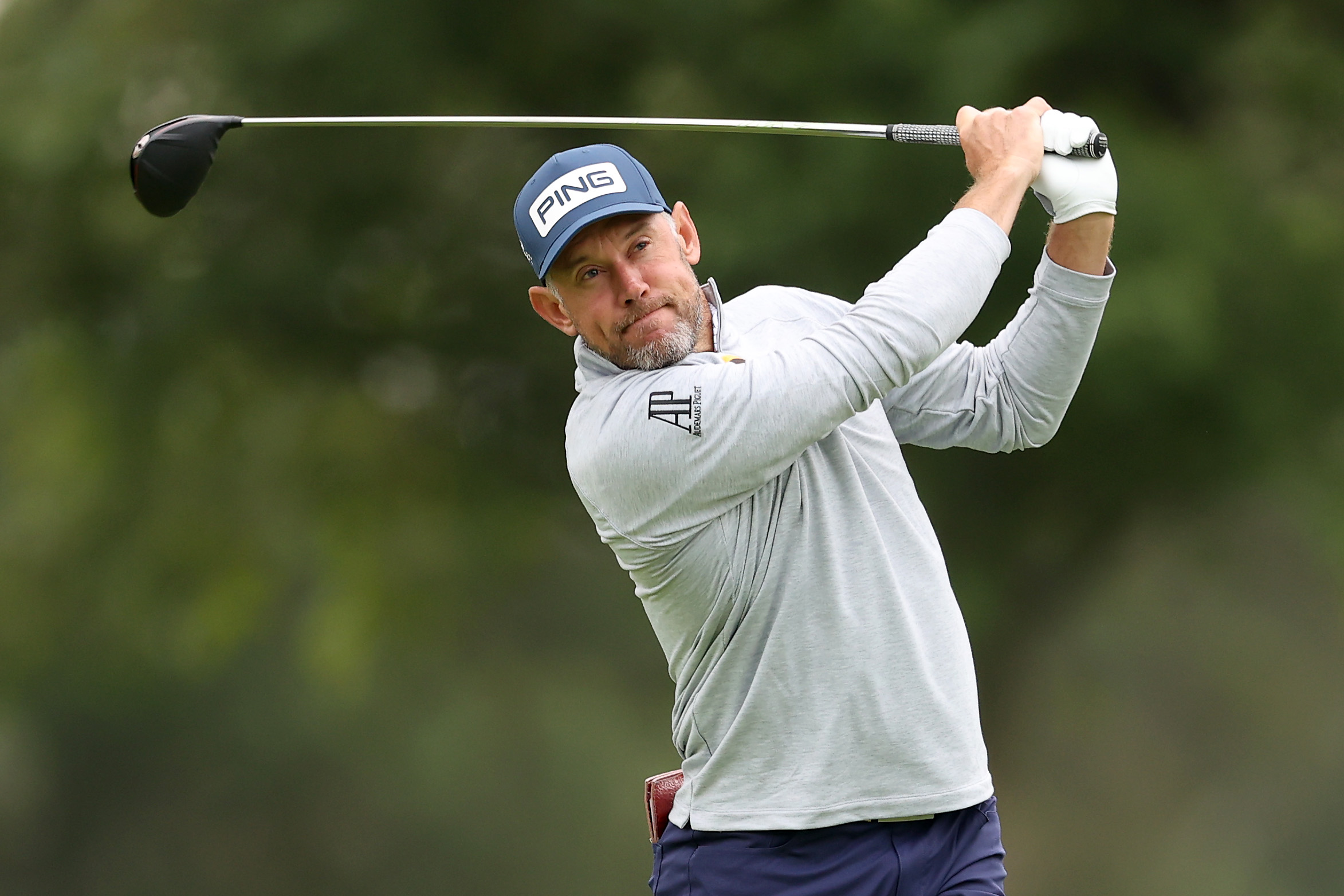 Lee Westwood is bidding for his first major title in his 83rd attempt
