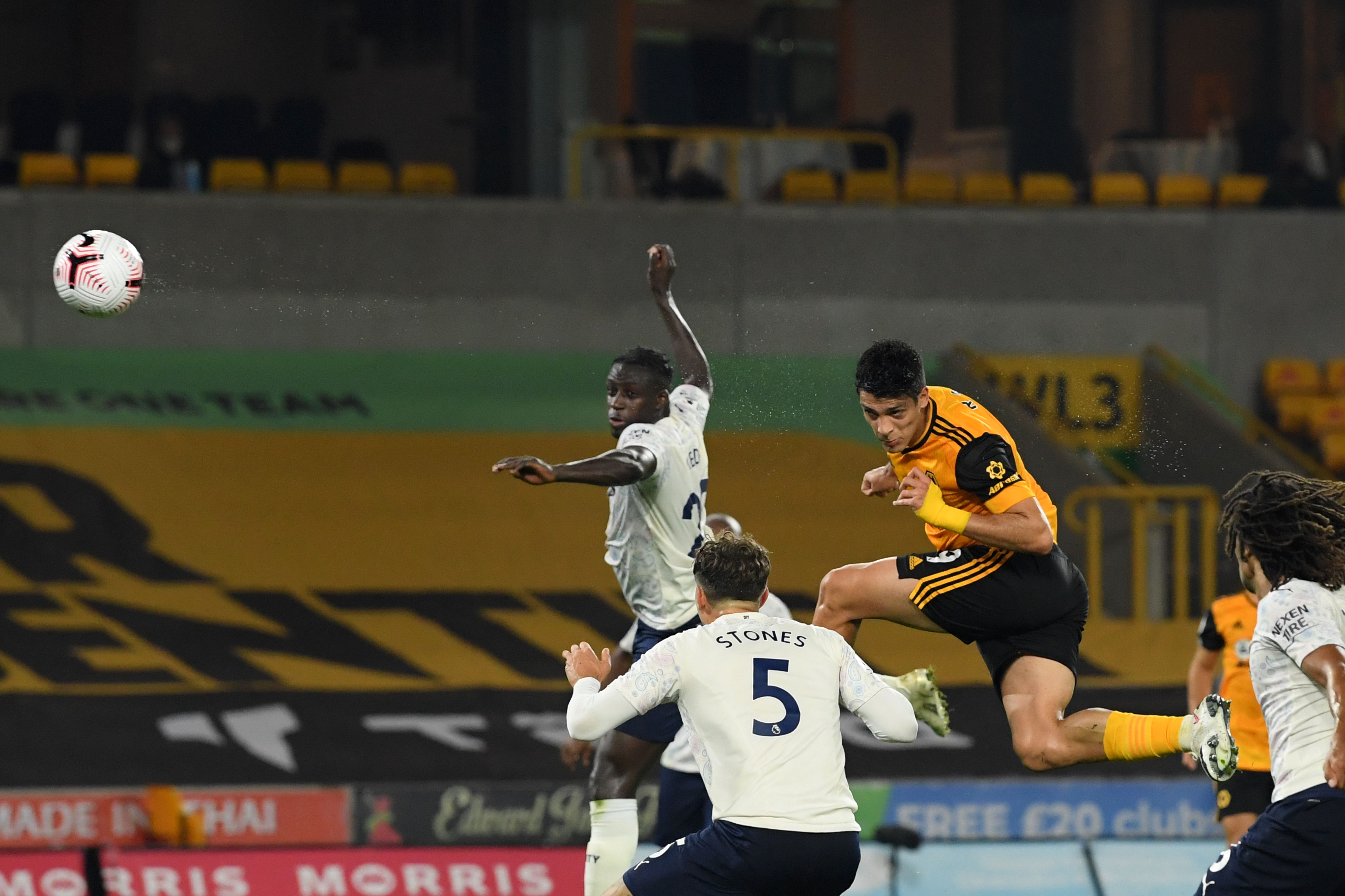Raul Jimenez's header for Wolves threatened to set up a dramatic finale