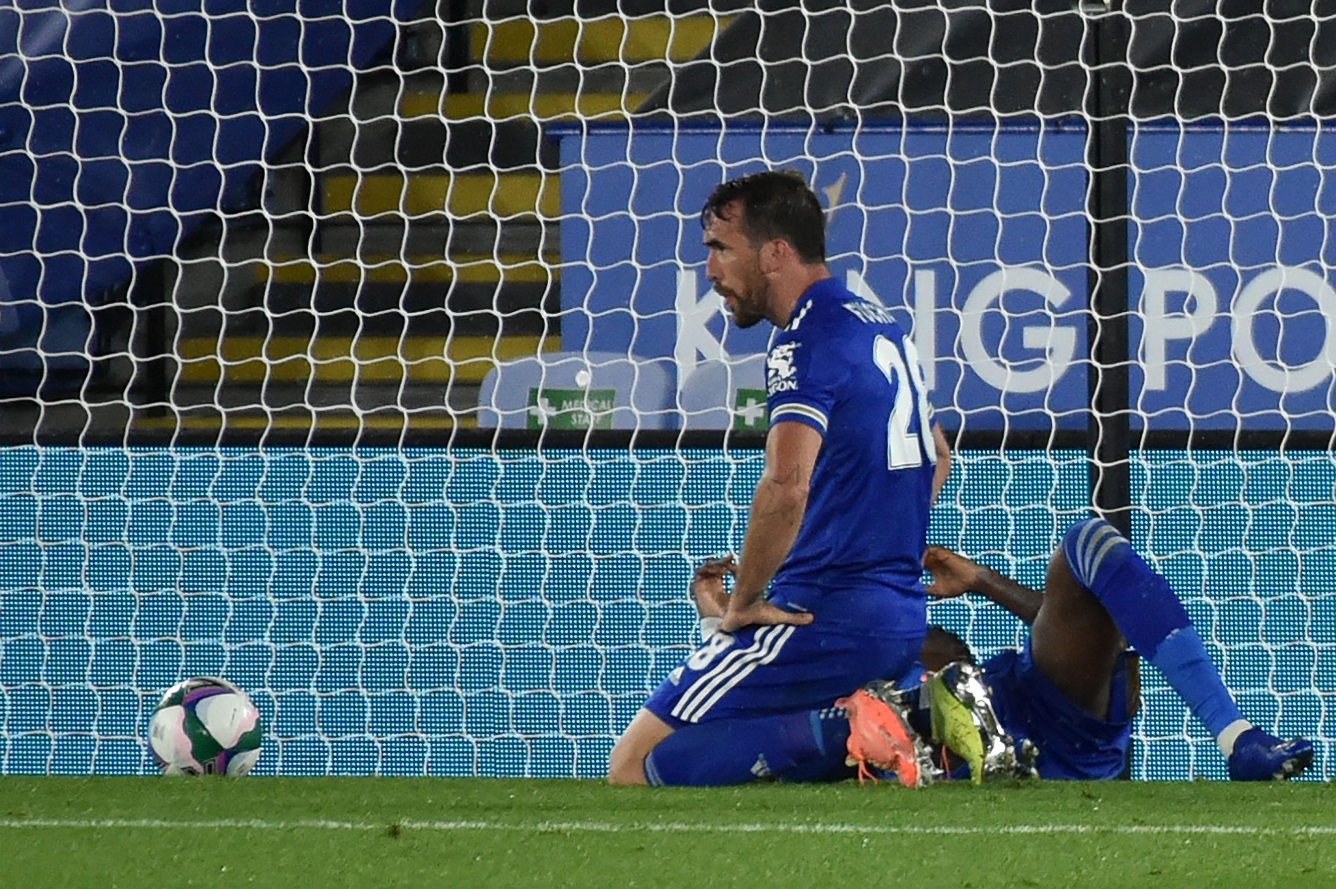 Christian Fuchs scored an own goal