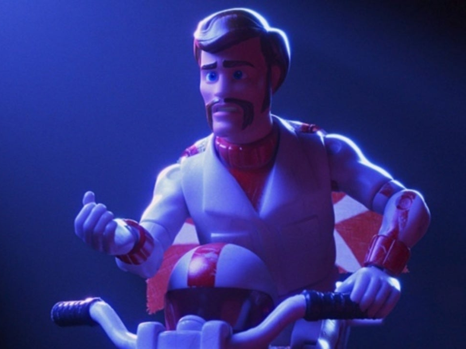 Keanu Reeves voices Duke Caboom in 'Toy Story 4'